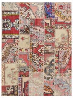 Patchwork Teppich 299 X 199