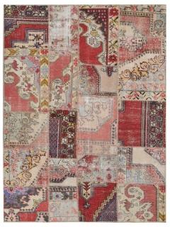 Patchwork Teppich 239 X 169