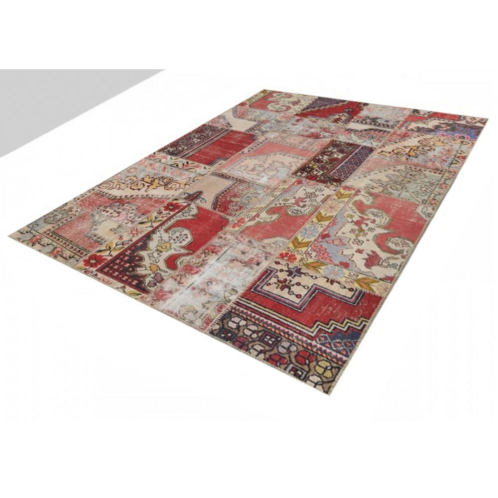 Alfombra patchwork muchos colorea 239 x 169 - Alfombras patchwork vintage ...