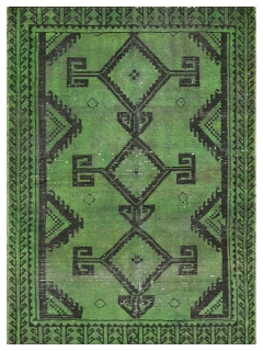 Vintage Teppich 184 X 104