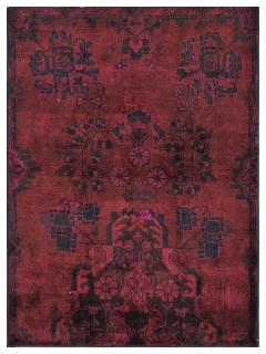 Vintage Teppich 138 X 99