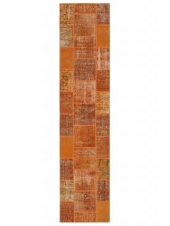 Patchwork Teppich 400 X 90