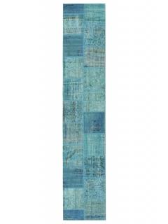 Patchwork Teppich 400 X 80