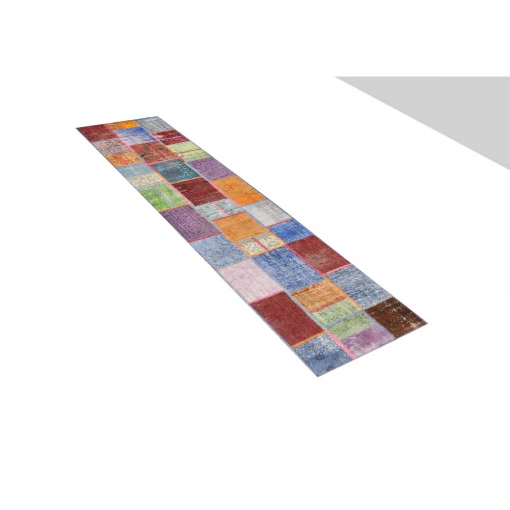 patchwork teppich 447 viele farben 447 x 85. Black Bedroom Furniture Sets. Home Design Ideas