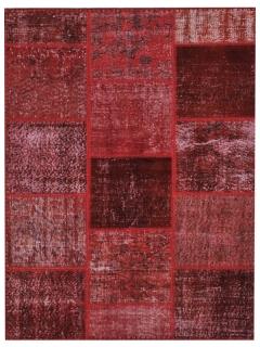 Patchwork Teppich 177 X 118