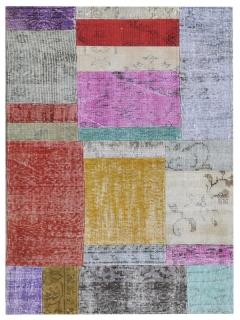 Patchwork Teppich 161 X 81