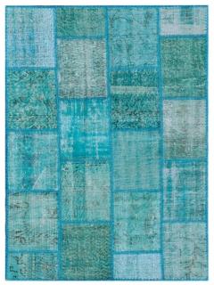 Patchwork Teppich 179 X 116