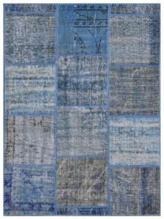 Patchwork Teppich 180 X 118