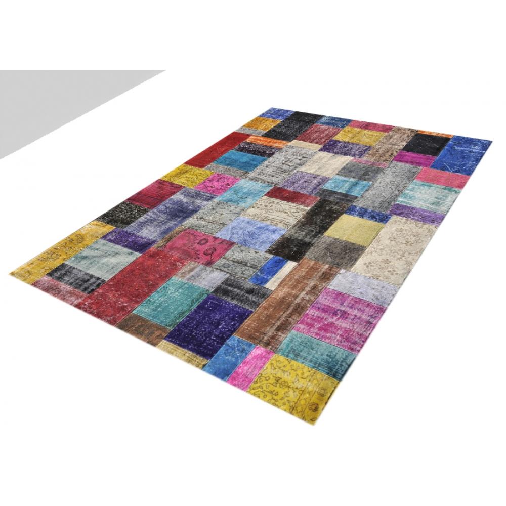 Alfombra patchwork muchos colorea 300 x 202 - Alfombras patchwork vintage ...