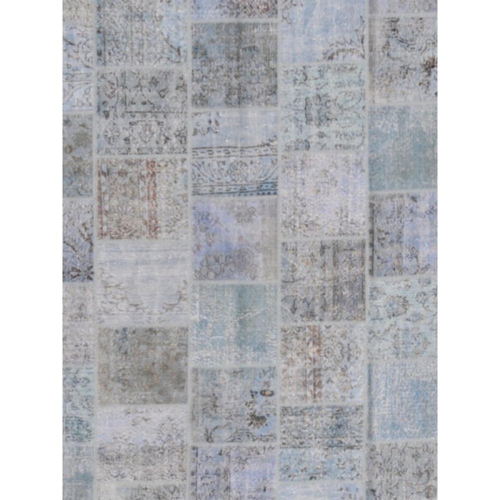 Alfombra patchwork azul 597 x 426 - Alfombras patchwork vintage ...
