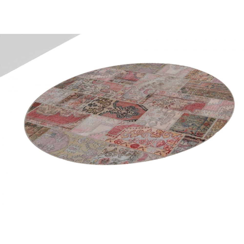 Alfombra patchwork crema 250 x 250 - Alfombras patchwork vintage ...