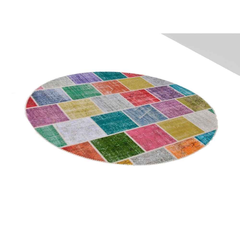 patchwork teppich viele farben 250 x 250. Black Bedroom Furniture Sets. Home Design Ideas