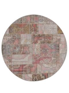 Patchwork Teppich 270 X 270