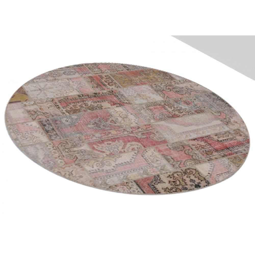 Alfombra patchwork crema 270 x 270 - Alfombras patchwork vintage ...