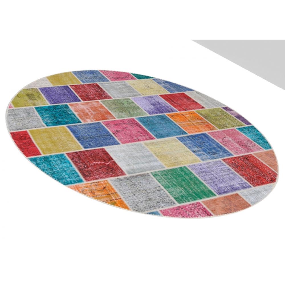 Alfombra patchwork muchos colorea 272 x 272 - Alfombras patchwork vintage ...