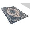 Vintage Teppich  blau