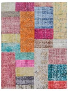 Patchwork Teppich 153 X 101