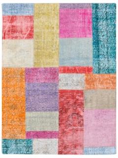 Patchwork Teppich 153 X 102