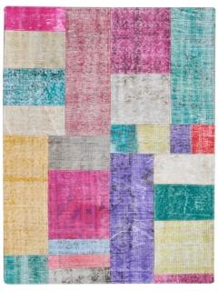 Patchwork Teppich 153 X 100