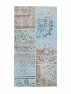 Patchwork Teppich 149 X 79
