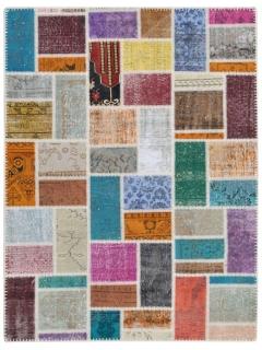 Patchwork Teppich 178 X 118