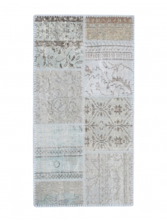 Patchwork Teppich 148 X 77