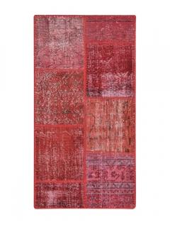 Patchwork Teppich 149 X 78