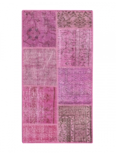 Patchwork Teppich 148 X 78