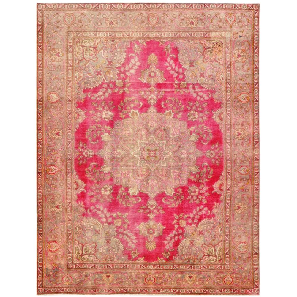 rot handgesponnene wolle vintage teppich 350 x 233. Black Bedroom Furniture Sets. Home Design Ideas