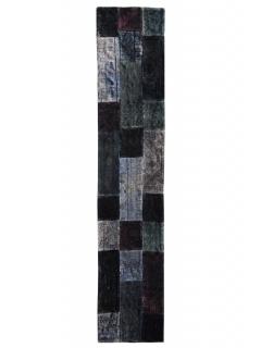 Patchwork Teppich 357 X 74