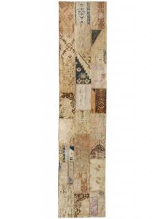 Patchwork Teppich 404 X 90
