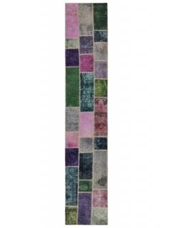 Patchwork Teppich 369 X 70