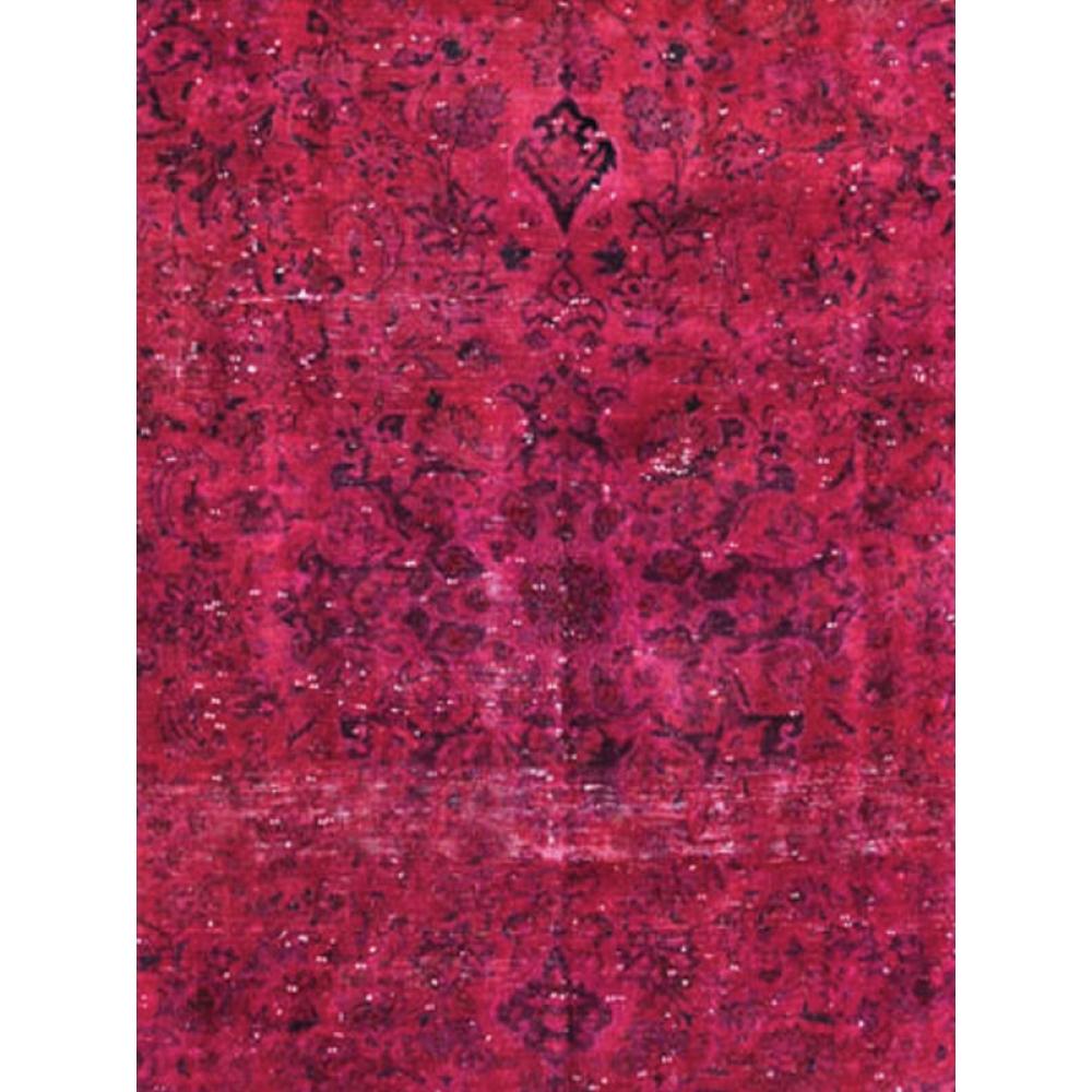 rot handgesponnene wolle vintage teppich 315 x 260. Black Bedroom Furniture Sets. Home Design Ideas
